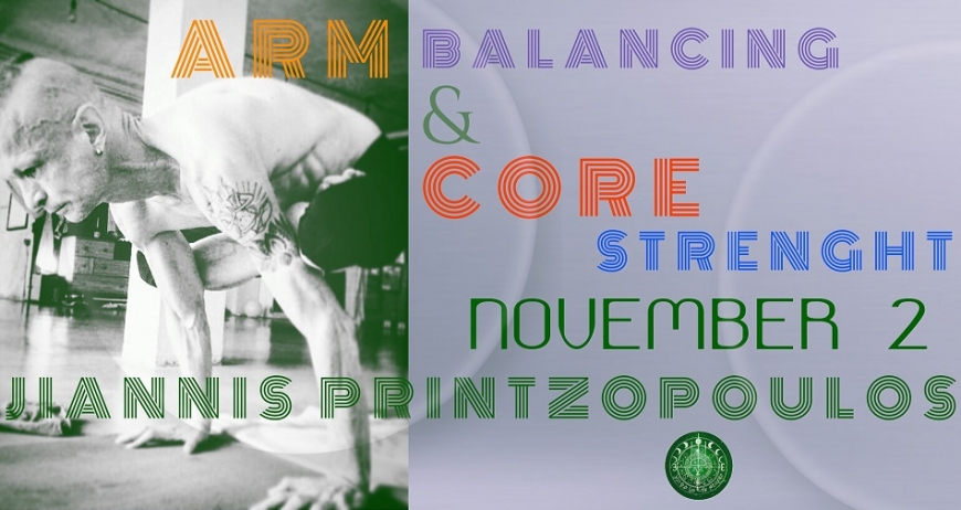 Arm Balancing and Core Strength Workshop